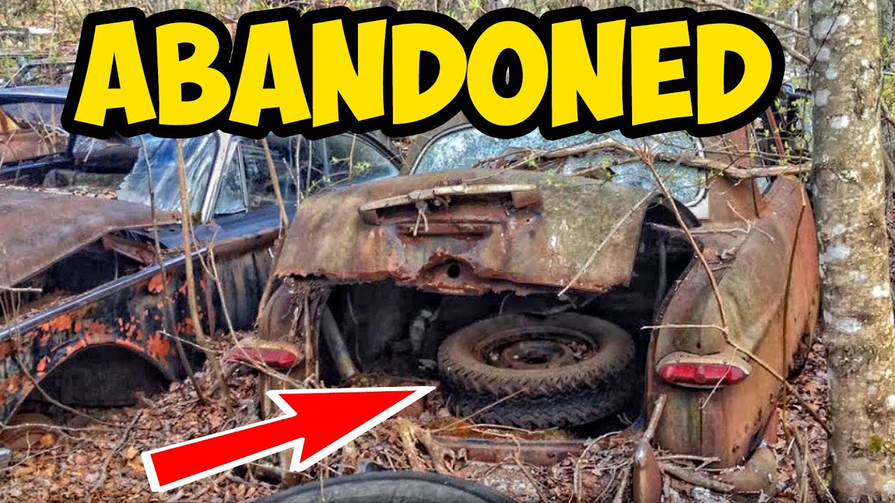 Junkyard car Finds. Rare Junkyard. Abandoned junkyard - YouTube