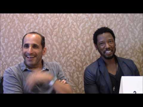 Colony  Tory Kittles and Peter Jacobson , Season 2 Comic Con