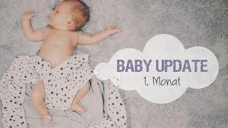 Baby Update #1 | Arthurs 1. Monat | Kinderarzt, Blähungen & das erste Bad
