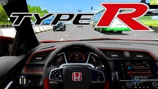 270 km/h con la CIVIC TYPE R - City Car Driving