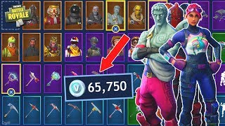 The Most Expensive Fortnite Locker... [Over $600 Spent on Fortnite: Battle Royale]