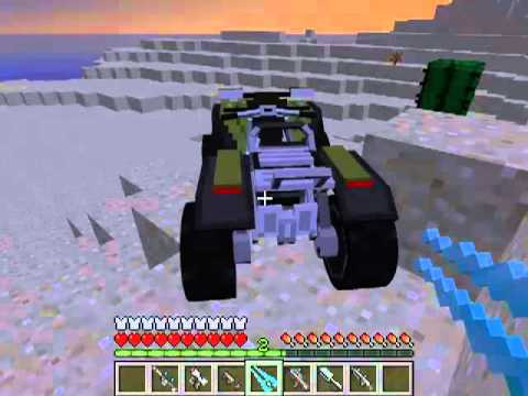 Minecraft HaloCraft Mod Spotlight - Halo Weaponry and Vehicles!