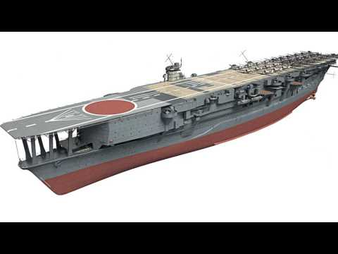 Japanese aircraft carrier Kaga in 3D - Kagero Publishing's book by Stefan Dramiński