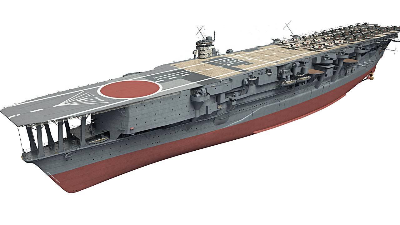Japanese aircraft carrier Kaga in 3D - Kagero Publishing's book by Stefan  Dramiński