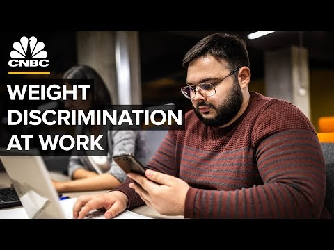 Why Weight Discrimination Persists In The U.S. Workplace