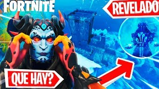 *REVEALED* THIS IS UNDER THE FORTNITE POLAR PICO CASTLE *NEW MONSTER SECRETS*
