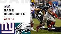 Giants vs. Eagles Week 14 Highlights | NFL 2019