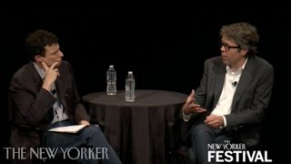 Jonathan Franzen talks with David Remnick - The New Yorker Festival - The New Yorker