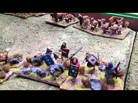 The Battle of Watling Street at the Wargames Holiday Centre