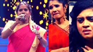சொந்த பாடலை தாறுமாறாக பாடி மனதை சொக்கவைத்த சூப்பர் சிங்கர் கண்ணகி! | Super Singer Kannagi