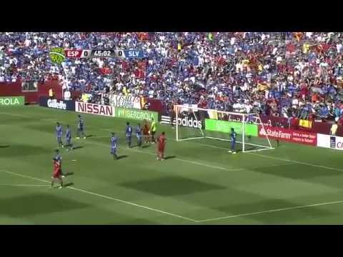 Spain 2 El Salvador 0 (7th June 2014)