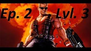 "Duke Nukem 3D Waltkthrough Ep. 2 ""Lunar Apocalypse"" Lvl. 3 ""Warp Factor"" (No Commentary)"
