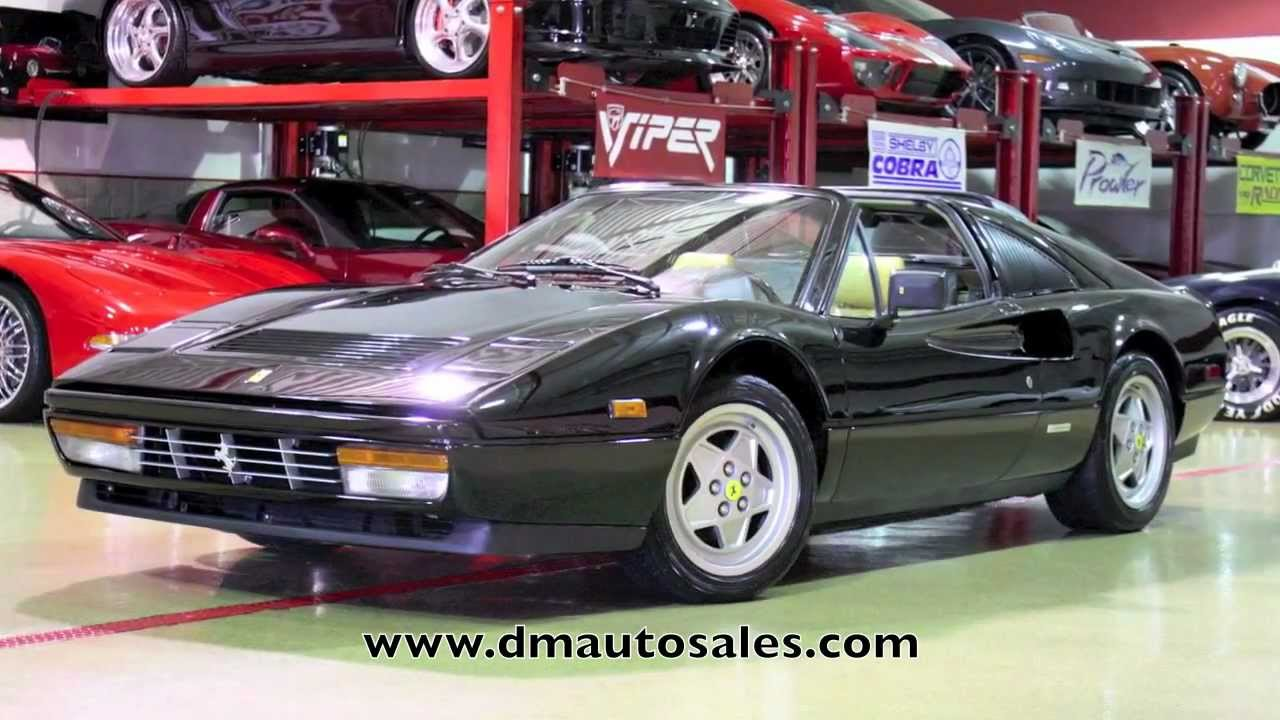 Ferrari 328 GTS Video Test Drive and Walk Around--D&M ...