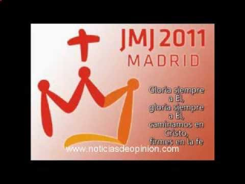 Himno oficial JMJ Madrid 2011 y letra Official hymn WYD Madrid 2011 lyrics www.noticiasdeopinion.com