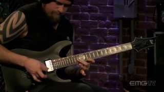Andy James, shows amazing guitar speed with Vortex Mind on EMGtv
