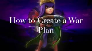 Clash of Clans How to Create a War Plan
