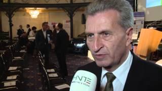 Günther H. Oettinger zum Thema Datensicherheit