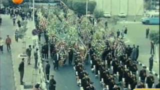 The Black Day of Egypt : Um Kalthoum Funeral 1975