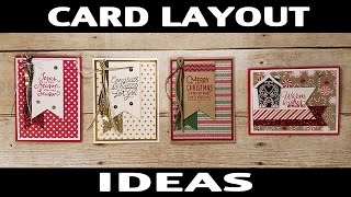 Stamping Jill - Card Layout Ideas