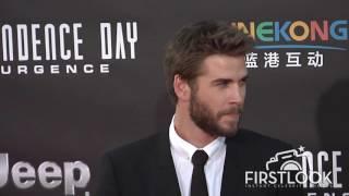 Liam Hemsworth at Independence Day  Resurgence LA premiere
