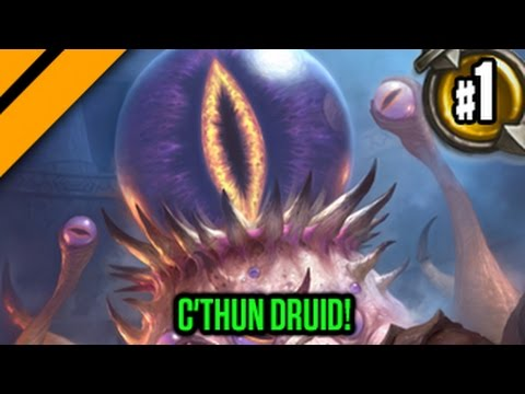 Day[9] HearthStone Decktacular #280 - C'thun Druid! P1