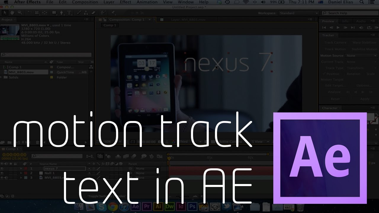 Motion Tracking in After Effects: 6 Ways to Track Your Footage