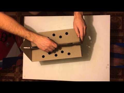 как сделать кошке домик своими руками в домашних условиях