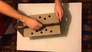 Как собрать переноску для кошки в домашних условиях(В этом ролике мы покажем вам как правильно собрать переноску для кошки и домик для кошки из картона 2 в 1...., 2014-12-22T20:29:27.000Z)