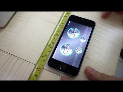 Flying Ruler. Как превратить IPhone в прибор для измерения углов и длины