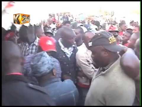 Football tournament turns violet after Sonko, Kenneth supporters clash