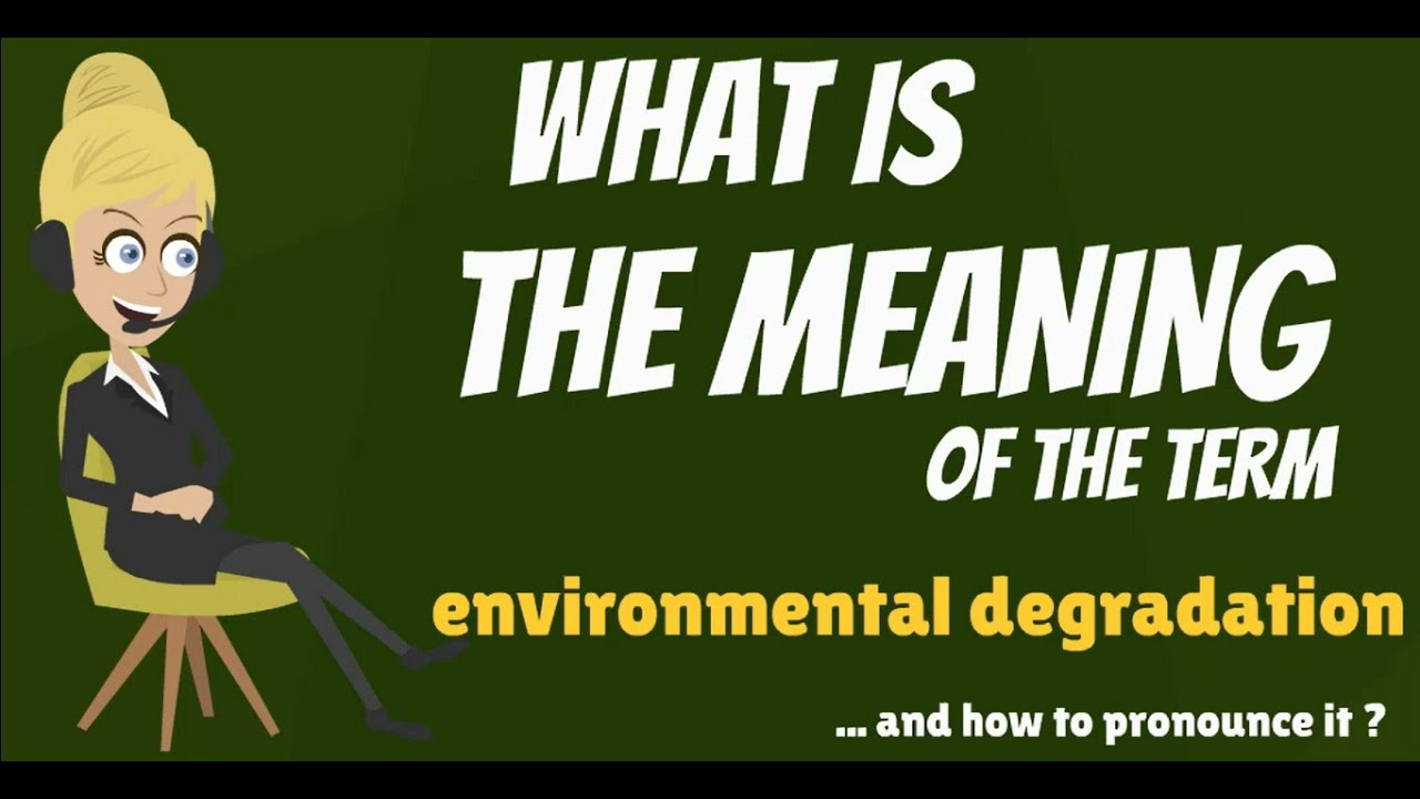 what is environmental degradation what does enviromental  what is environmental degradation what does enviromental degradation mean
