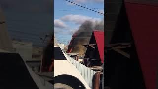 В Якутск произошел пожар в Доме Арчы