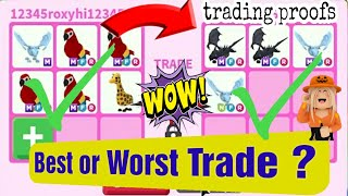 My Worst Or Best Accepted Mega Trades In Adopt Me Richest Servers