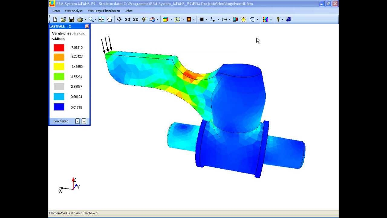 Finite elemente software fem software fem berechnungen for Fem analyse