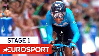 Vuelta a España 2018 | Stage 1 Highlights | Cycling | Eurosport