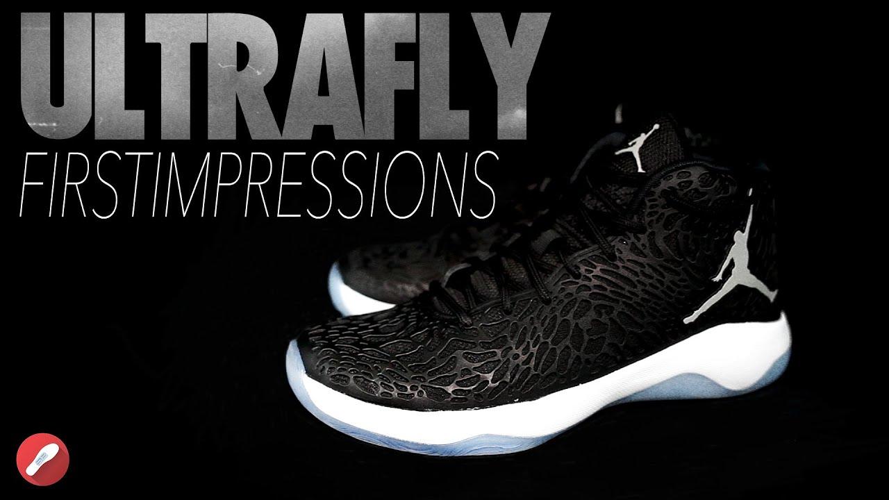 41a40b3dc08e Jordan Ultrafly First Impressions! - YouTube