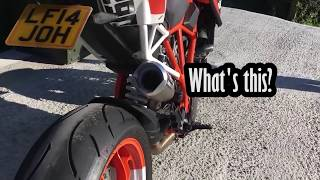 Flames & exhaust - Motorcycle sounds compilation: SuperDuke, Ducati & more...