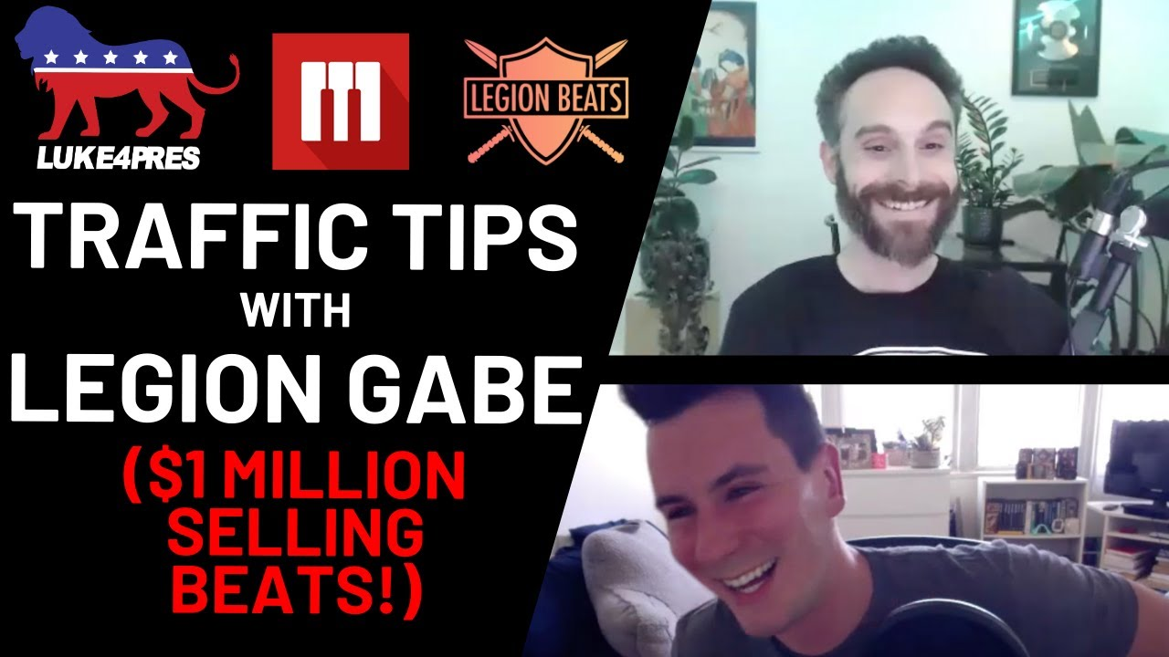 How To Sell Beats Online | Traffic Tips with Gabe from Legion Beats