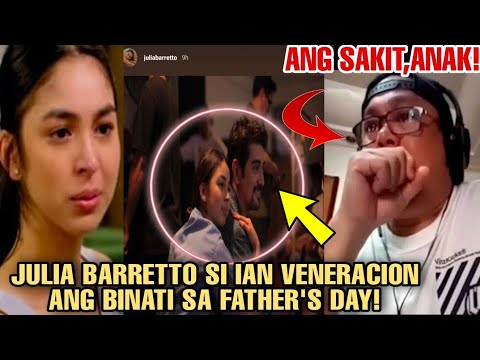 ????GRABE!DAHIL DITO JULIA BARRETTO NABUKING na MAY TAMPO ulit kay DENNIS PADILLA!DEDMA sa FATHER'SDAY! -  (2020)