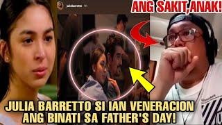 🎯GRABE!DAHIL DITO JULIA BARRETTO NABUKING na MAY TAMPO ulit kay DENNIS PADILLA!DEDMA sa FATHER'SDAY!