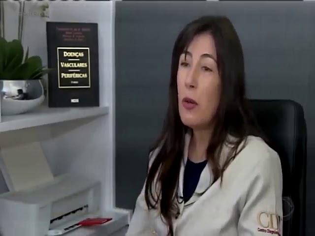 Inchaço no verão - Dra. Simone Franco (Fala Brasil 22.12.18)