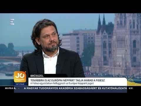Továbbra is az Európai Néppárt tagja marad a Fidesz - Deutsch Tamás - ECHO TV