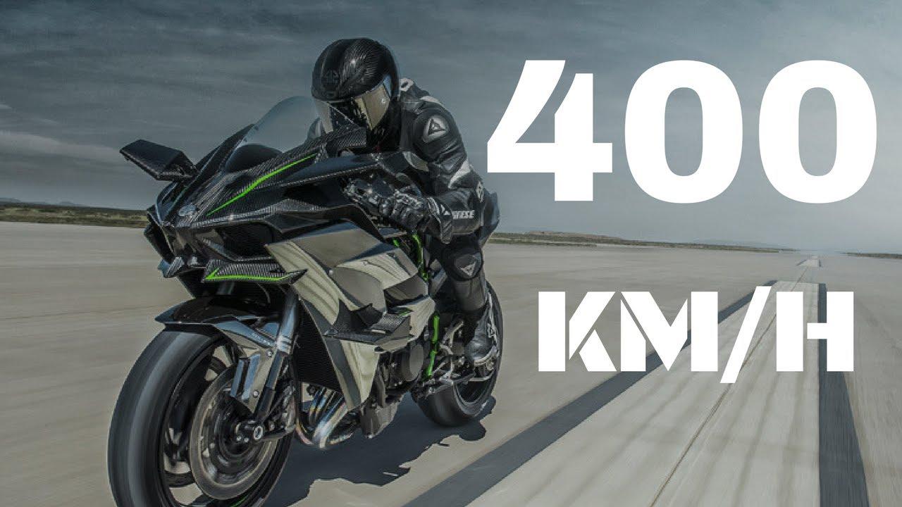 Kawasaki Ninja Bike Top Speed 400 Kmh Record Breaking Speed