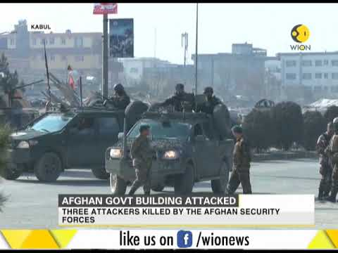 Afghan government building attacked in Kabul