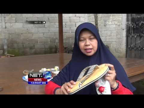 Kreasi Unik Sandal Jepit Cantik dari Kain Perca Khas Bandung - NET12