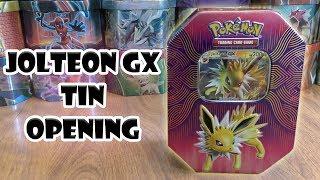 Pokemon TCG Card Elemental Power Jolteon GX Tin New Sealed