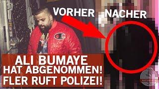 Ali Bumaye hat abgenommen! | Streit mit Rapper - Fler ruft die Polizei!