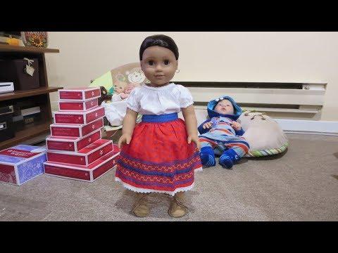 Unboxing American Girl Josefina - Doll Break Ep. 713