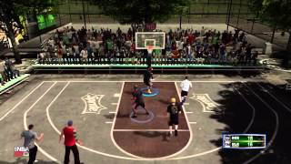 NBA 2k13 Blacktop 3 vs 3 - RainMaker From The Corner ft Kspadetheprospect & NikeFaller
