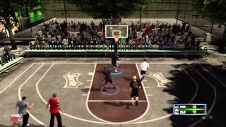 NBA 2k13 Blacktop 3 vs 3 - RainMaker From The Corner ft Kspadetheprospect & NikeFaller
